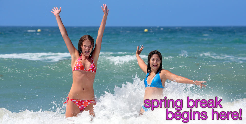 Spring Break Begins at High School Vacations!
